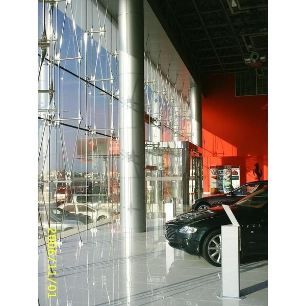 Ferrari showroom in Dubai