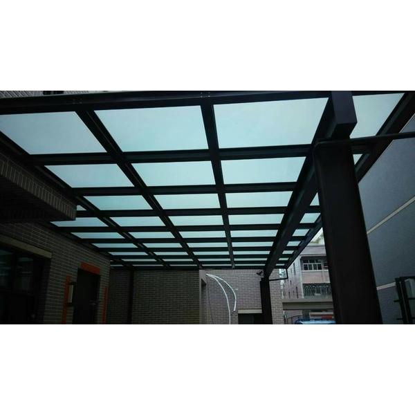 H型鋼玻璃採光罩
