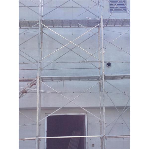 外牆 陽台 施作仿清水模-清水模有限公司-台北