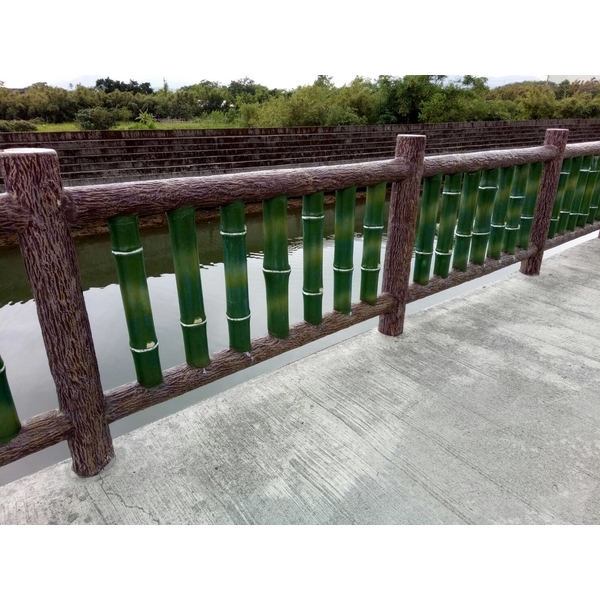 仿木仿竹欄杆-芳益水泥加工廠-新北