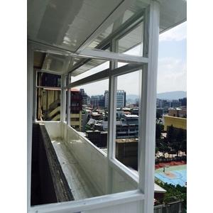 後陽台景觀凸窗+置物箱