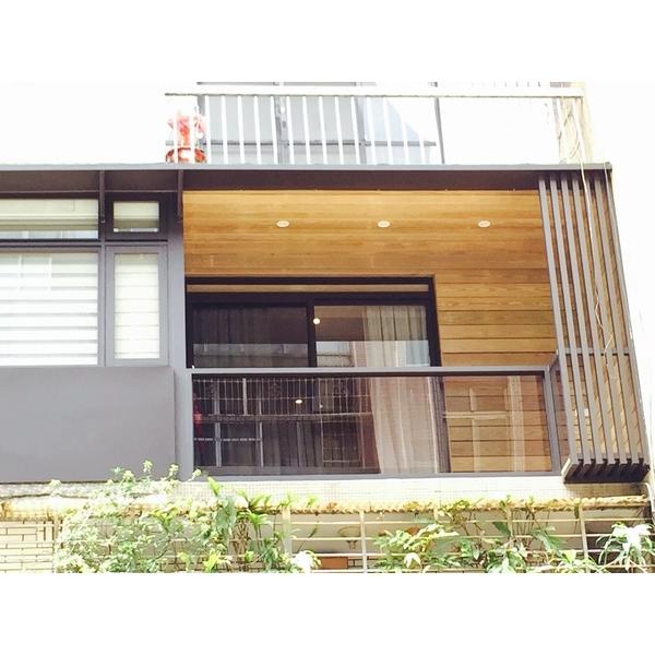 陽台 推開+固定 景觀窗(採用DK時尚精品窗2-鑫輝鋁業有限公司-新北