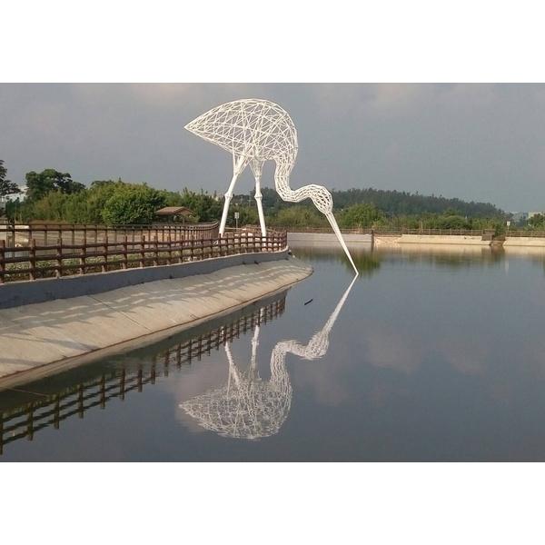白鷺鷥(藝術家許宗傑作品)-千易藝術室-新北