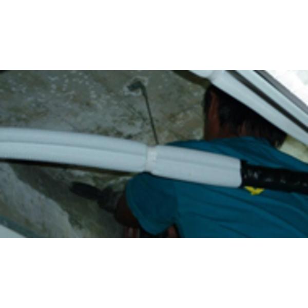 天花板高壓灌注止漏工法