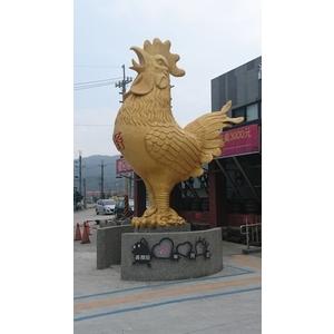 蘇澳造型金雞