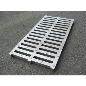 鑄鋁蓋20X40X2cm A型圓形止滑點-中道企業有限公司-新北