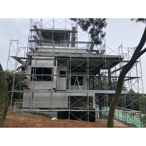 日式節能透氣鋼構耐震屋