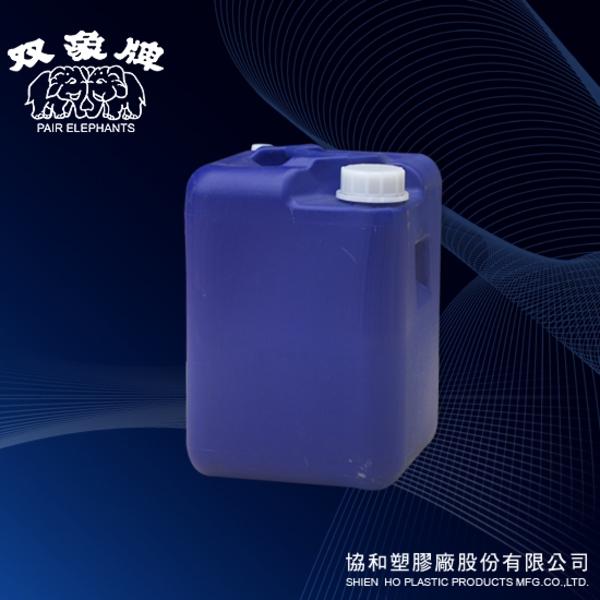 25公升四角桶(藍色)