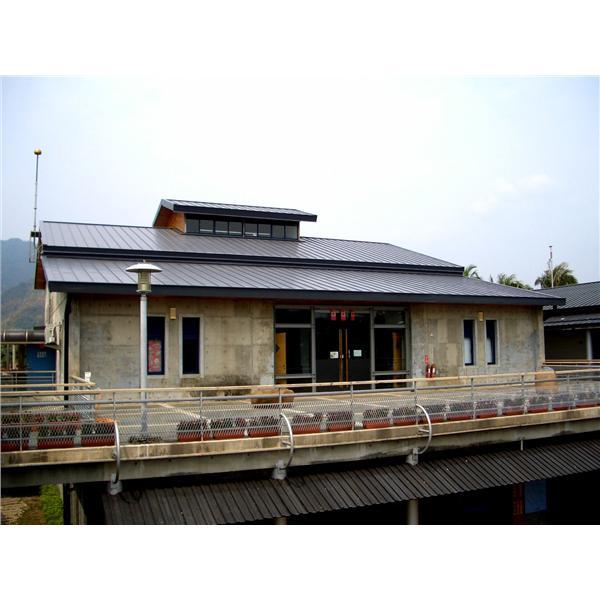 美濃客家文物館屋面板工程
