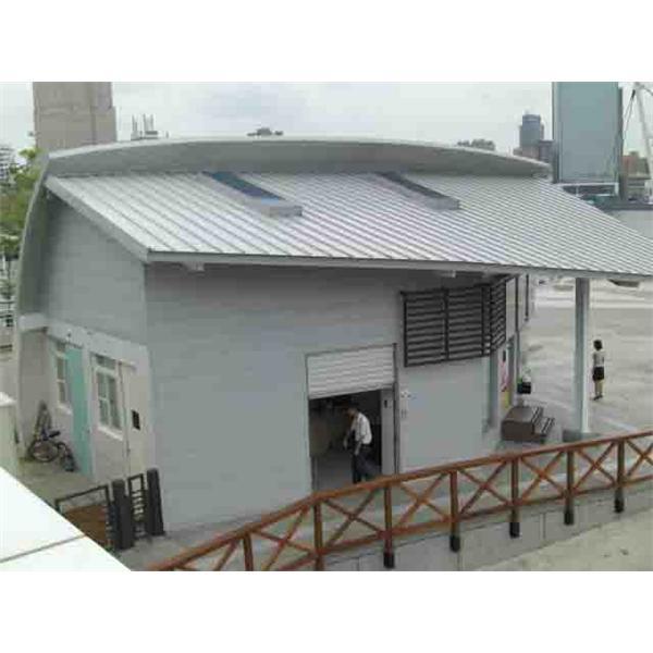 真愛碼頭守衛室屋面板工程