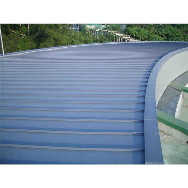 天文展示館屋面板工程