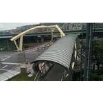 基隆暖江橋鈦鋅屋面工程