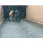 地下道路面刨除工程