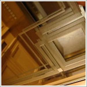 玻璃工程 明鏡施工 磨分邊+表面噴砂-昕采玻璃有限公司-新北