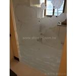 立體噴砂玻璃 雕刻玻璃 玻璃隔間  烤漆玻璃  膠合玻璃  白膜玻璃