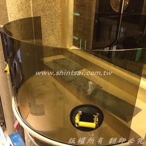 彎曲玻璃 大廳玻璃