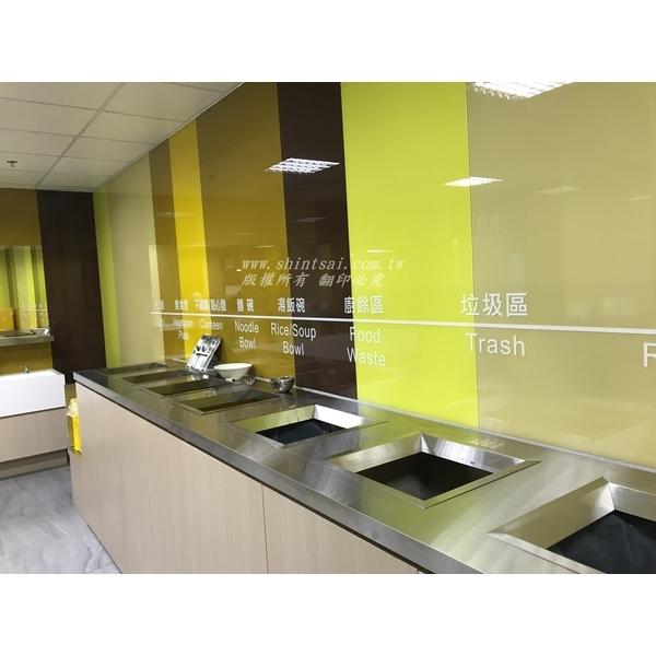 烤漆玻璃 廚房烤漆 強化玻璃 玻璃安裝 玻璃維修 玻璃工程-昕采玻璃有限公司-新北