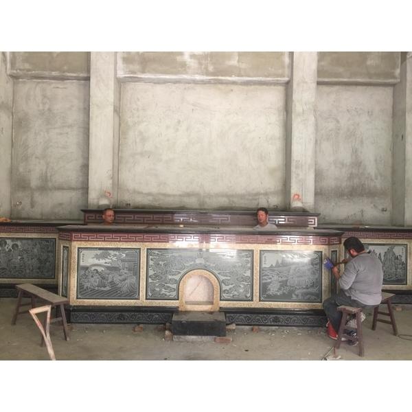 廟宇內殿石雕工程-威霖石雕工程有限公司-彰化