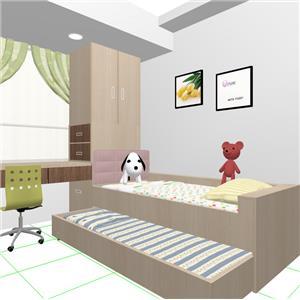 小孩房規劃 子母床-蓉靚室內裝修設計工程有限公司-基隆
