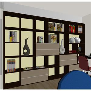 書房規劃 書櫃-蓉靚室內裝修設計工程有限公司-基隆