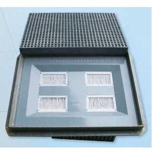 鋼纖維水溝蓋加環保防蚊防臭氣密盤整組-君格科技有限公司-高雄