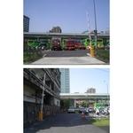 台北市交通警察大隊停車場(台北市) NB-350柵欄機