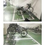 吾居吾宿 訂製款-高低腳踏車位架