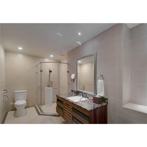 【新永興磁磚】浴室設計亮白優雅系列