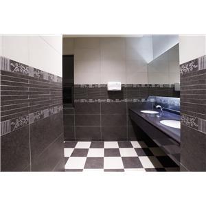 【新永興磁磚】浴室設計黑白系列-新永興磁磚建材行-新北