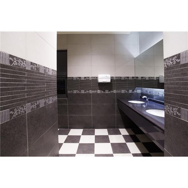 【新永興磁磚】浴室設計黑白系列
