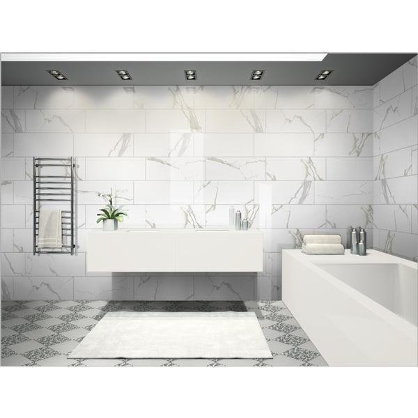 浴室磁磚SP銀狐白 亮面