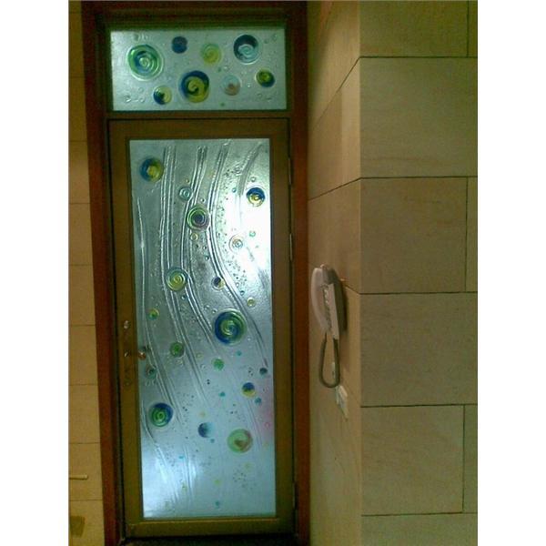 琉璃玻璃門