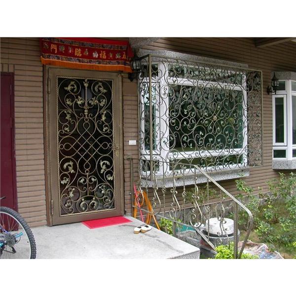 鍛造門窗扶手及大門