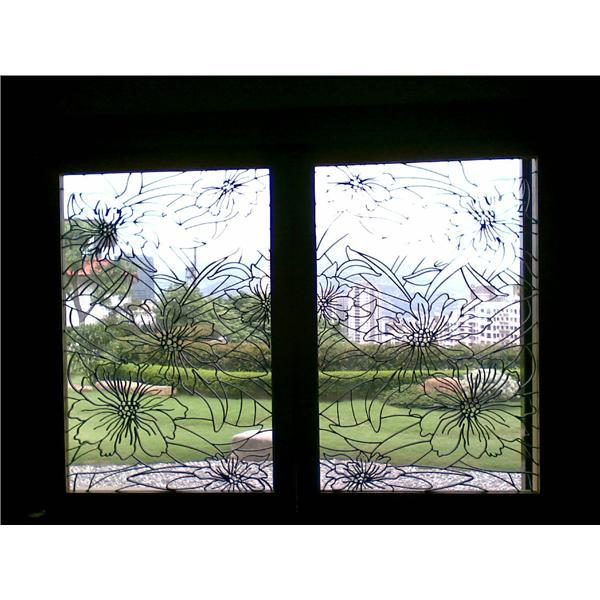 鍛造藝術窗戶