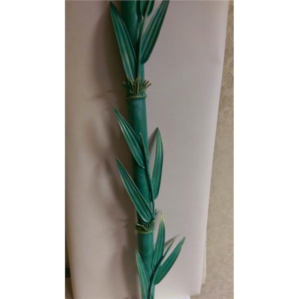 手工鍛造竹子