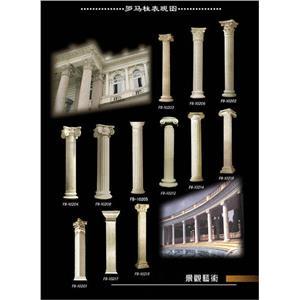 羅馬柱表現圖-春誠建材有限公司-台中