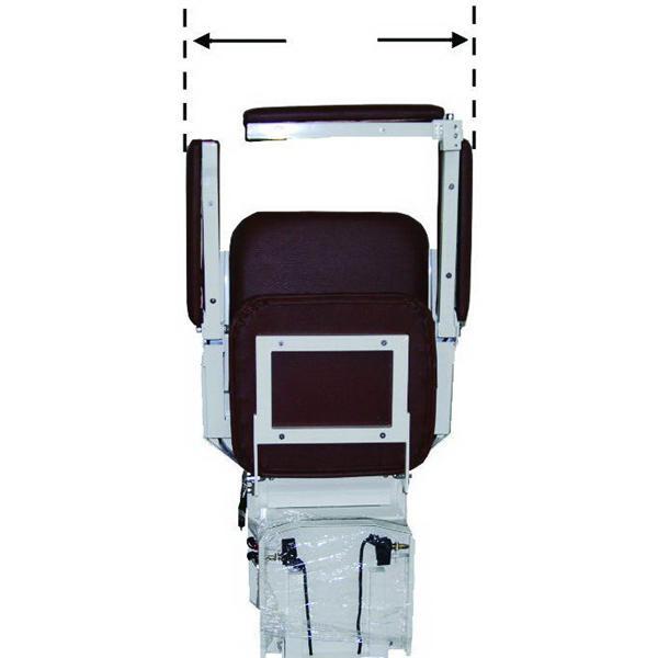 椅子正面寬度