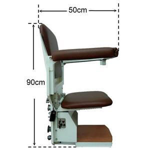 椅子側面展開尺寸-騰城科技有限公司-台中