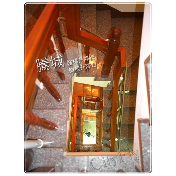 天井樓梯安裝實例-騰城科技有限公司-台中
