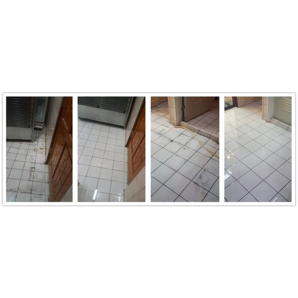 地板除膠去黑垢-潔新環境清潔維護服務社-花蓮