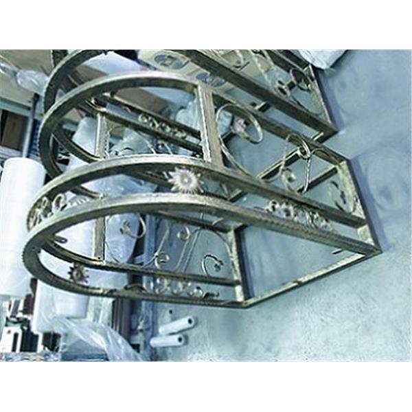 錏鐵鍛造窗-粉體烤漆-耀譽科技工業有限公司-台南