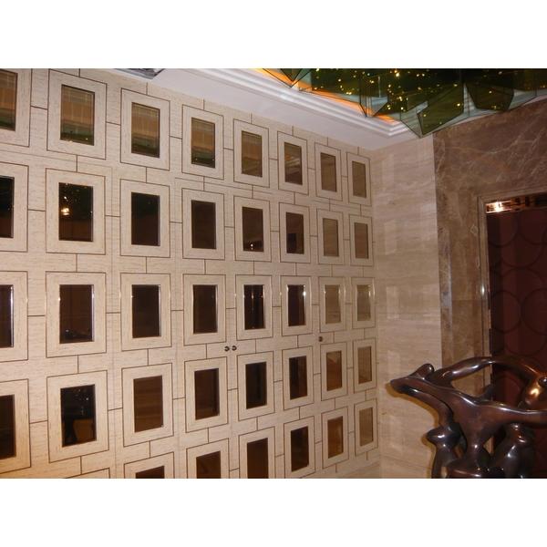 鍍鈦造型牆面