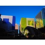 中和連城路遠雄AOC廠辦- 美國首諾Saflex Vanceva 多彩膠合玻璃建案