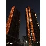 元利建設信義建國南路豪宅- 美國首諾Saflex Vanceva 多彩膠合玻璃建案