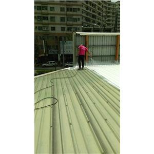 烤漆浪板-防水隔熱工程