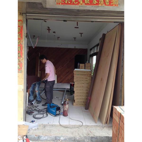 不鏽鋼門框-施工前