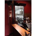 烤漆黑-紅外線式自動門