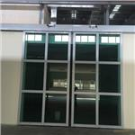 不鏽鋼玻璃重型自動門