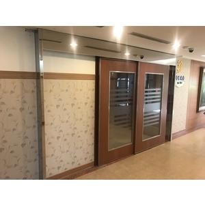 醫院重疊門自動門