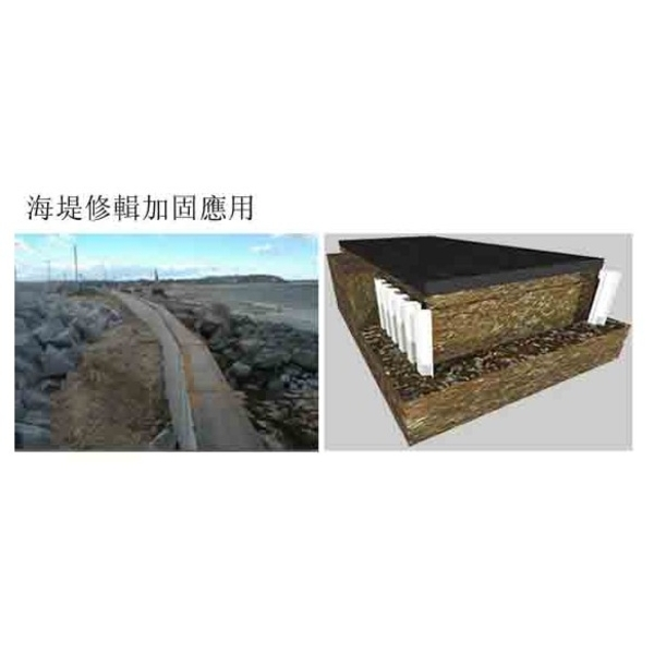 塑鋼板樁海堤修葺加固應用